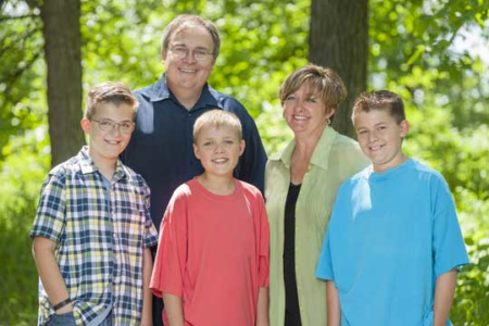 Janice Lukes & Family