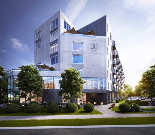 Proposed Apartment Development On University Crescent