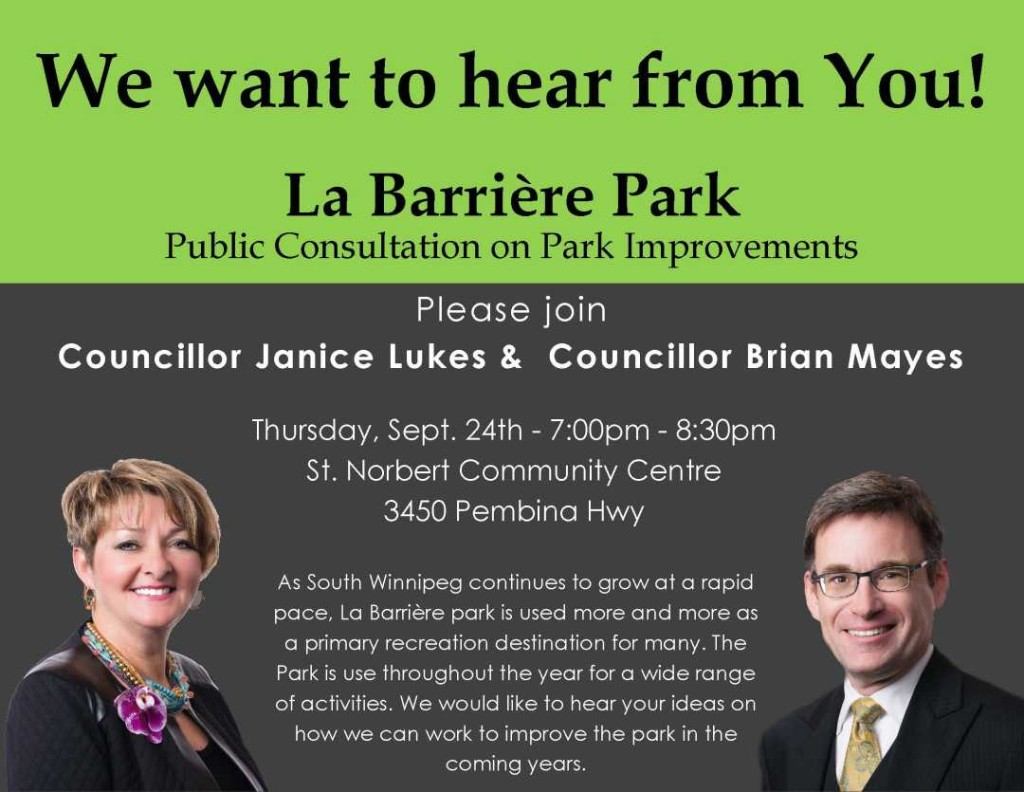La Barrier Park Poster #2