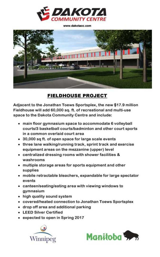 Fieldhouse Spec Sheet Handout - Final