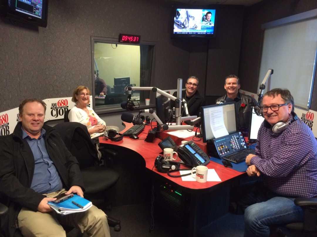 South Winnipeg Rec Complex CJOB Radio Nov 6 2015