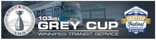 Winnipeg Transit Options for Grey Cup Festivities