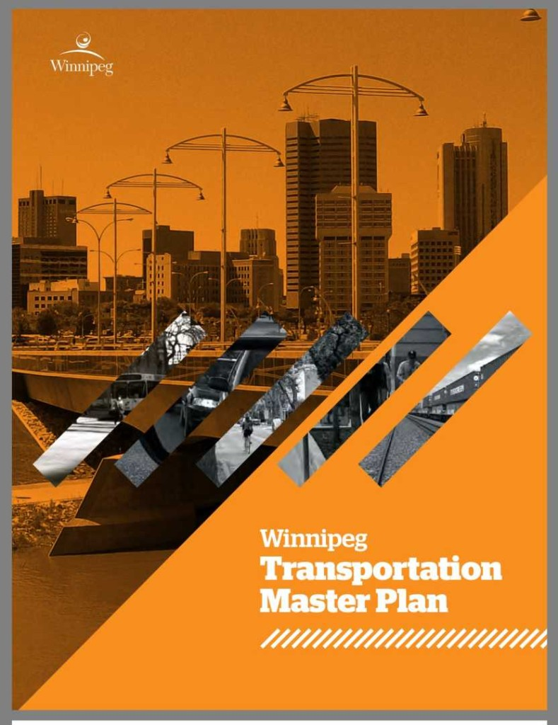 Winnipeg Transp Master Plan Cover Page