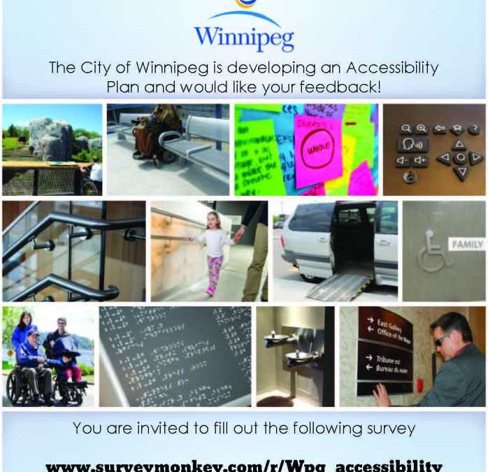 Feedback Wanted!  Complete Winnipeg's Accessibility Survey