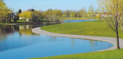 Maintenance of retention ponds janice lukes councillor for Design of retention pond