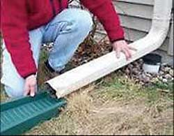 Drainage from Sump Pumps & Downspouts