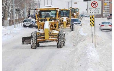 Snow Route Parking Ban Extended – Midnight to 7 a.m.