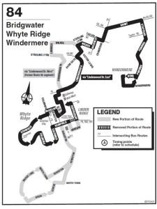 Transit bridgwater route