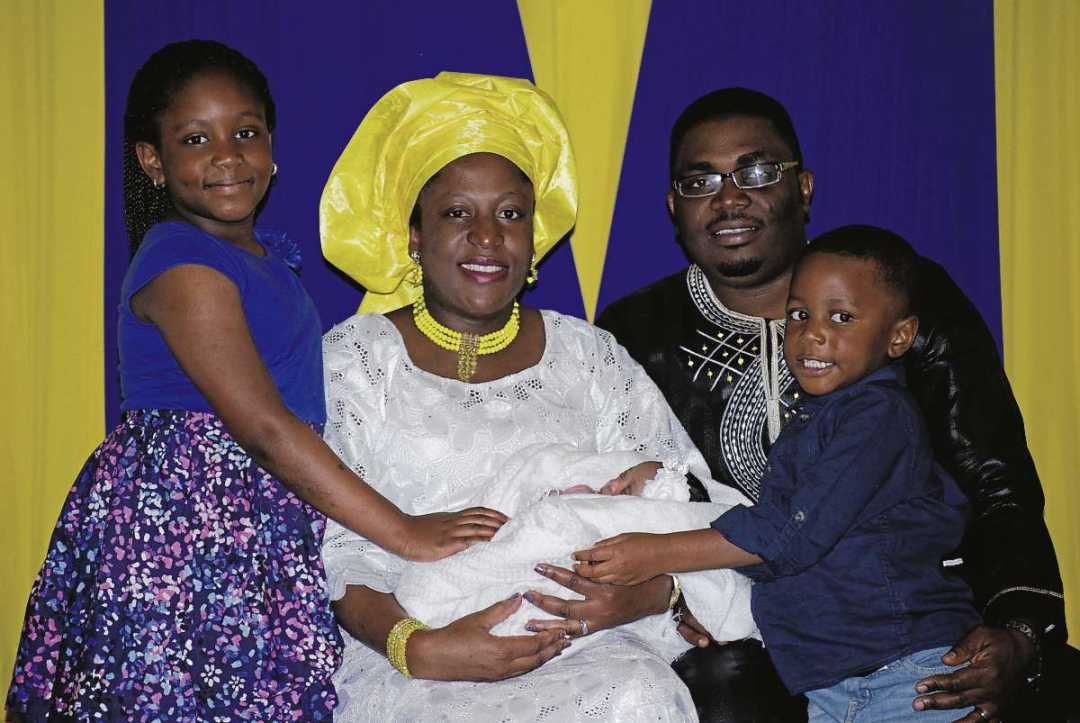 The Oluwasegun family has settled nicely in Fort Richmond after immigrating from Nigeria.