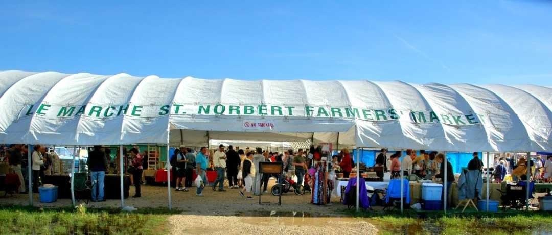 New Canopy Structure at St. Norbert Farmers' Market – Open House