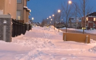 Public Works Committee Punts Sidewalk/Pathway Snow Removal Report – Timeframe In Limbo