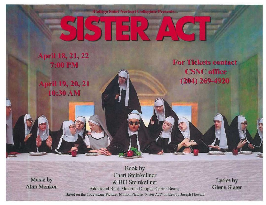 College Sister Act Image