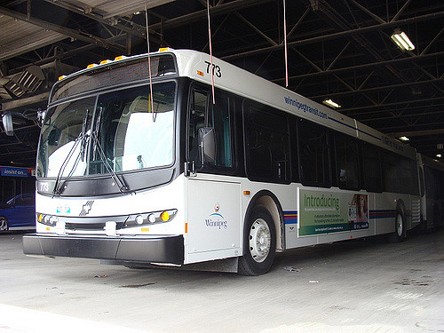 Transit Service in South Winnipeg-St. Norbert Ward