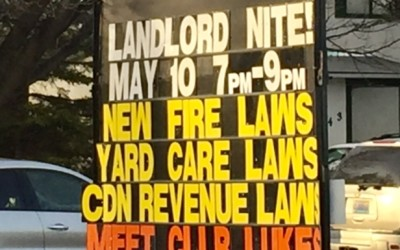Landlord Night – Free Information Session