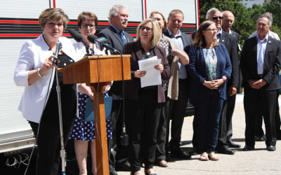 Manitoba Capital Region Leaders Launch NEW Fire Department Incident Reporting System