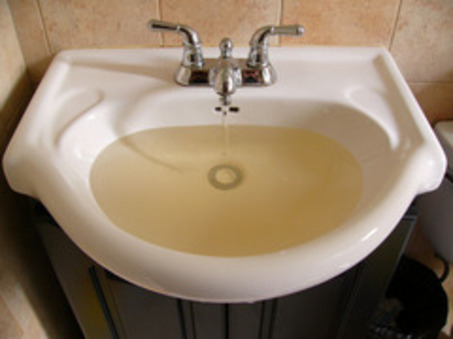 Dealing with Discolored Water