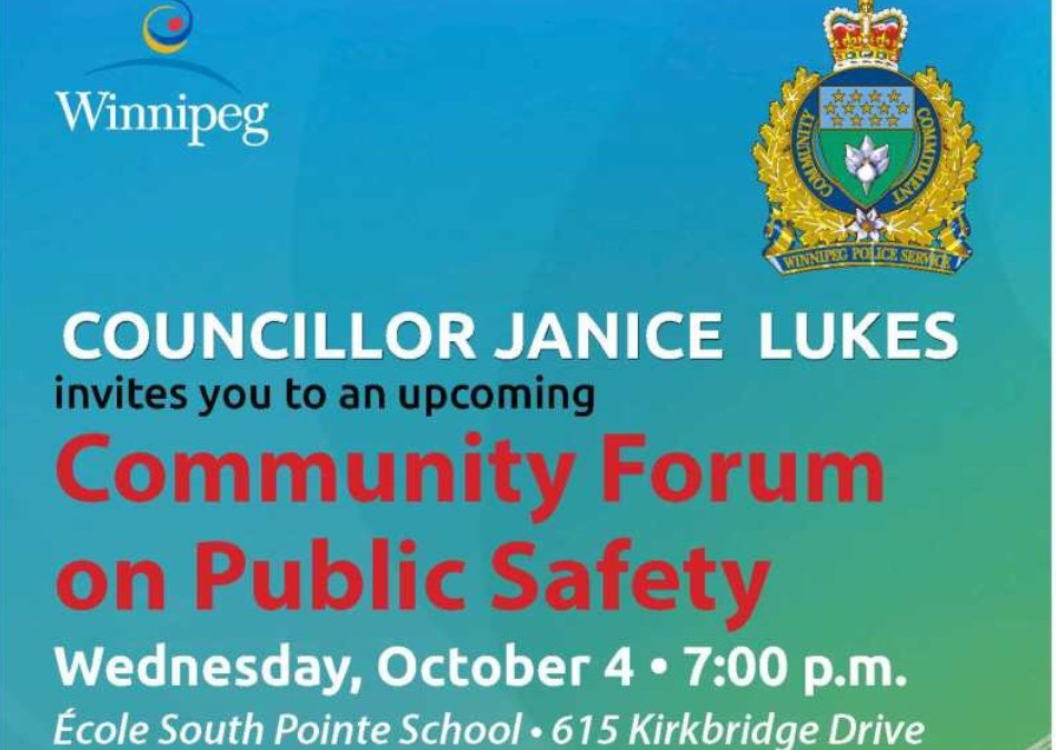 Community Forum on Safety & Crime Prevention