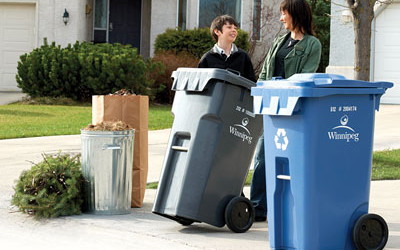October 1 Change in Collection of Garbage, Recycling & Yard Waste