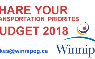 YOUR Transportation Priorities – 2018 City Budget
