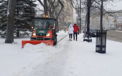 Update: Snow/Ice Removal on Sidewalks and Pathways