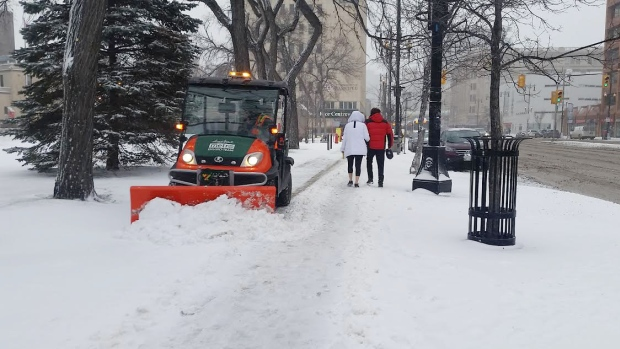 Snow/Ice Removal on Sidewalks and Pathways