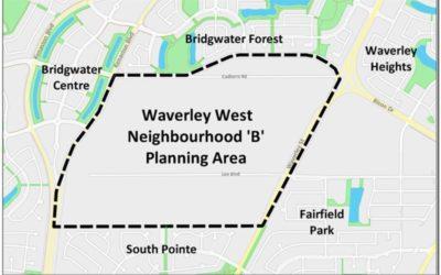 Developing Land in Waverley West Neighbourhood B