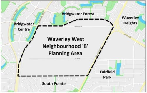 Developing Land in Waverley West Neighbourhood B