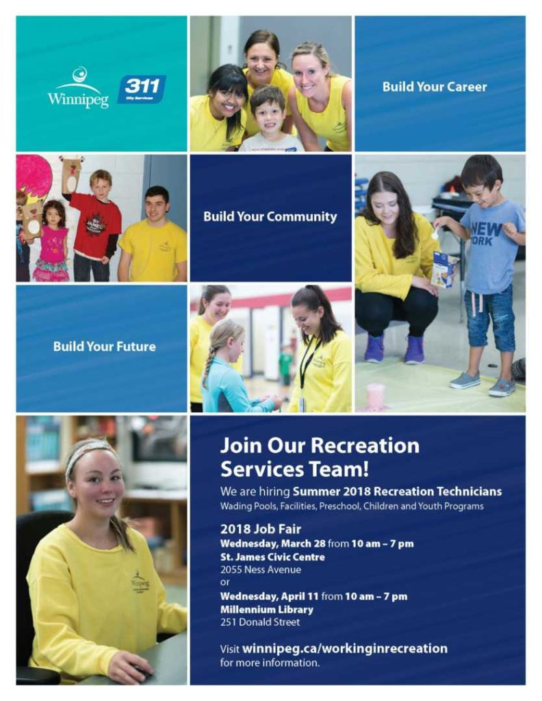 recreation services 2018 job fair