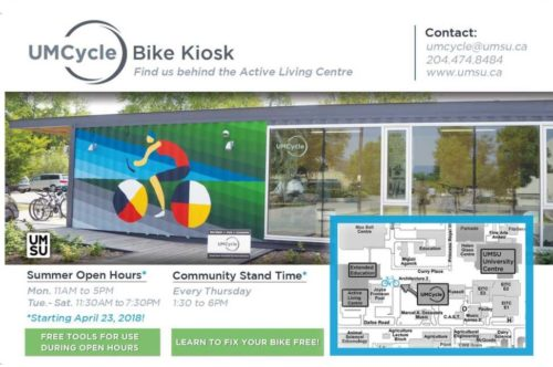 Local Community Bike Repair Kiosk Now OPEN!
