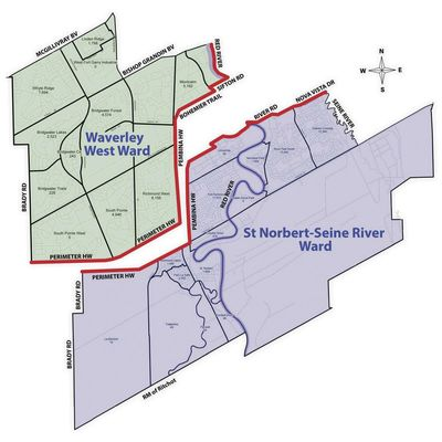 South Winnipeg St Norbert Ward Is Splitting In Two