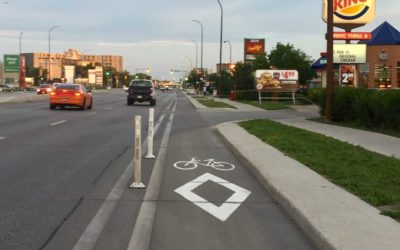 Higher Level Of 'Safety Protection' Required For Pembina Highway Bike Lanes