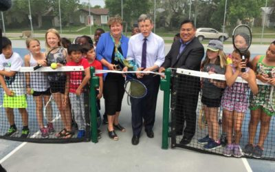 New Tennis Courts And Soccer Fields In Waverley Heights