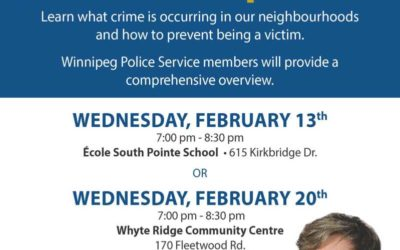 Waverley West Crime Prevention Workshops