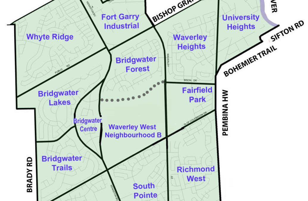 Boundaries Of The Waverley West Ward