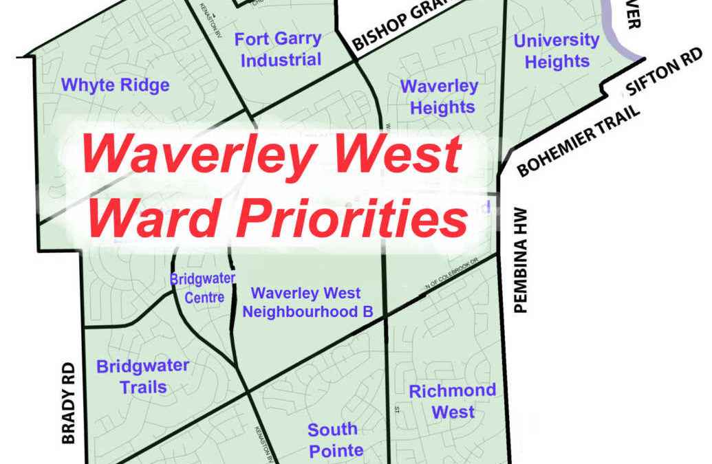 Waverley West Ward Priorities