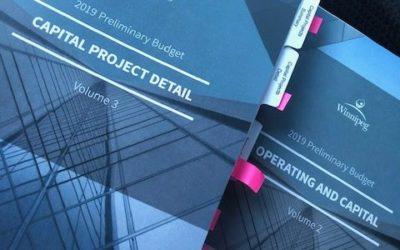 Statement On 2019 City Of Winnipeg Budget Process