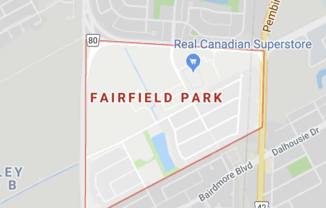 History Of The Fairfield Park Name