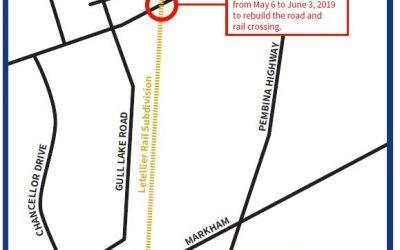Street Closures – Markham Drive & Chancellor Drive
