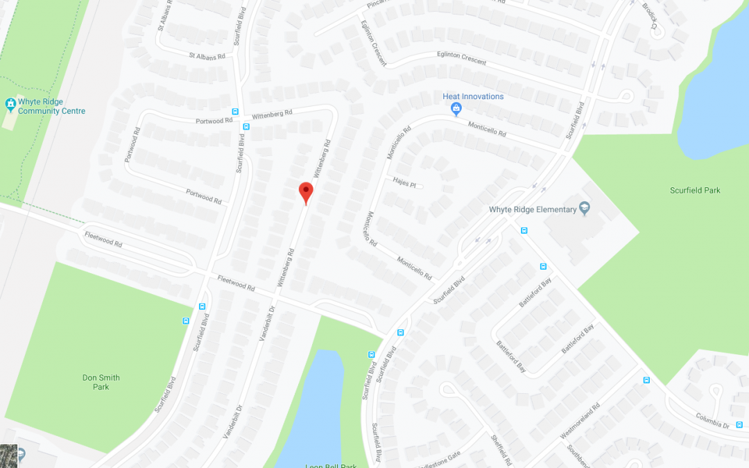 Construction Notice – Whittenberg Rd – Fleetwood Rd to Scurfield Blvd