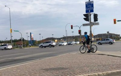 Intersection of Kenaston and McGillivary – Road Safety Strategy & Vison Zero