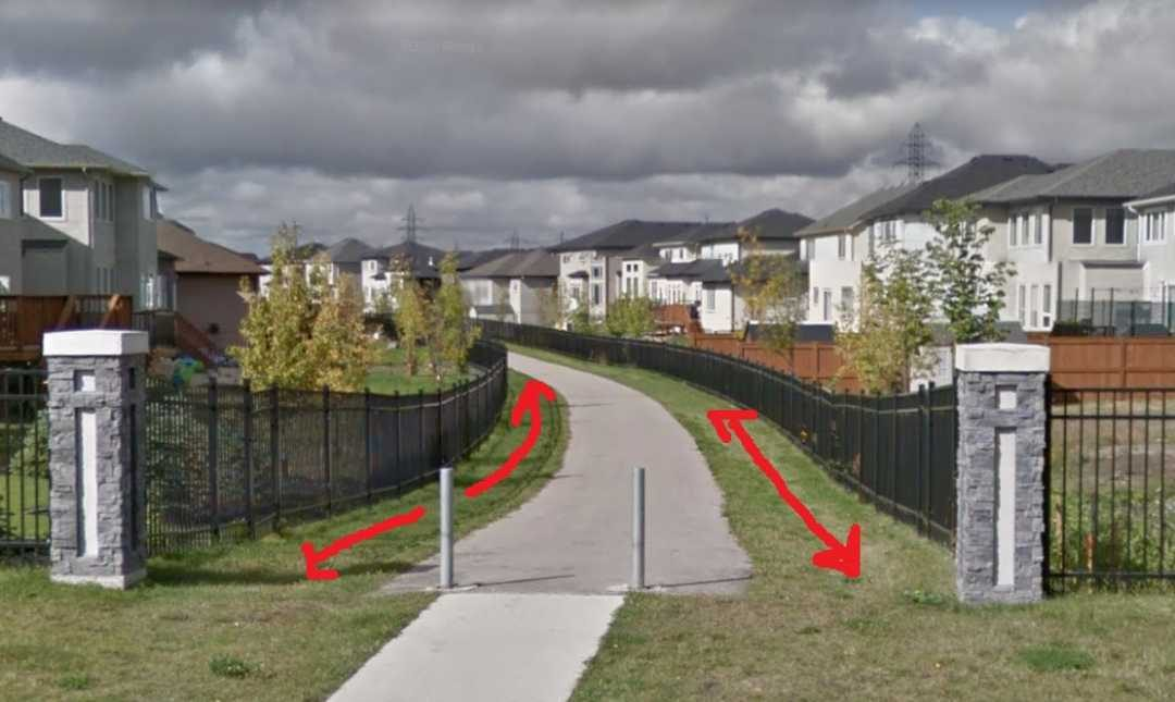 Notification To Homeowners Backing Onto 'Visitable' Pathways