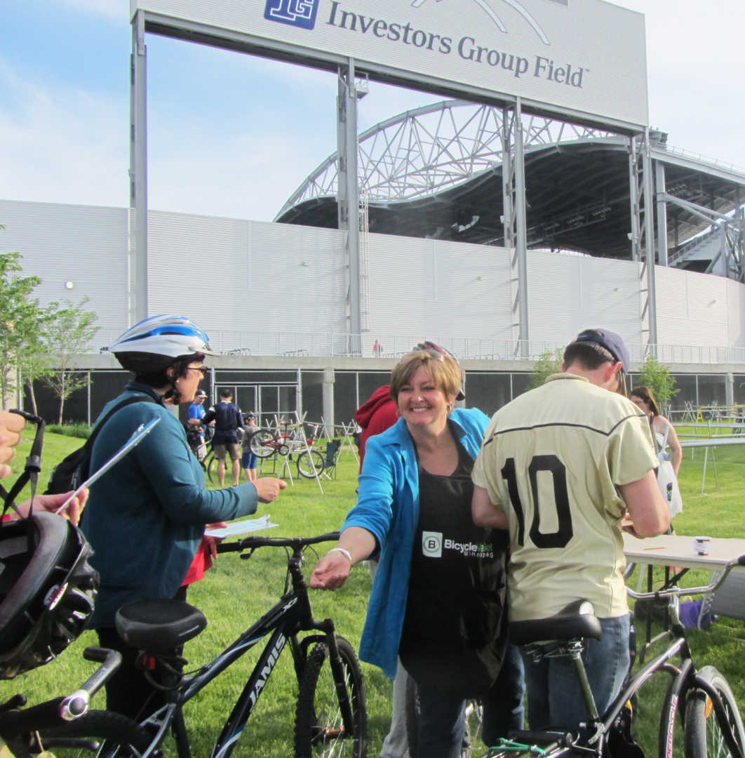 Safer Routes to Game Day at the Investors Group Field