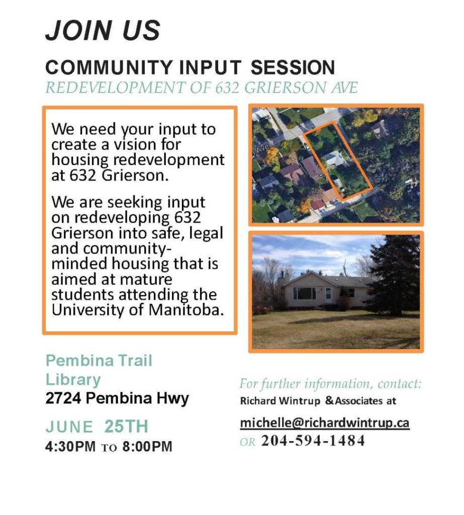 632 Grierson Community Flyer