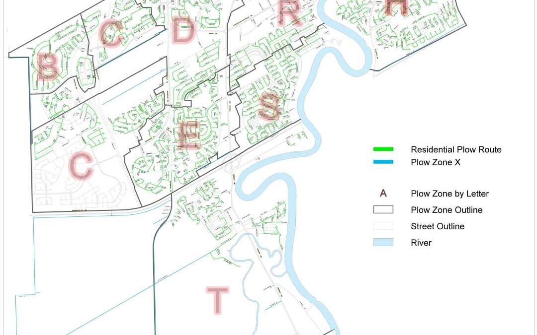 South Winnipeg-St. Norbert Ward Residential Snow Parking Ban Starts 7 p.m. December 19