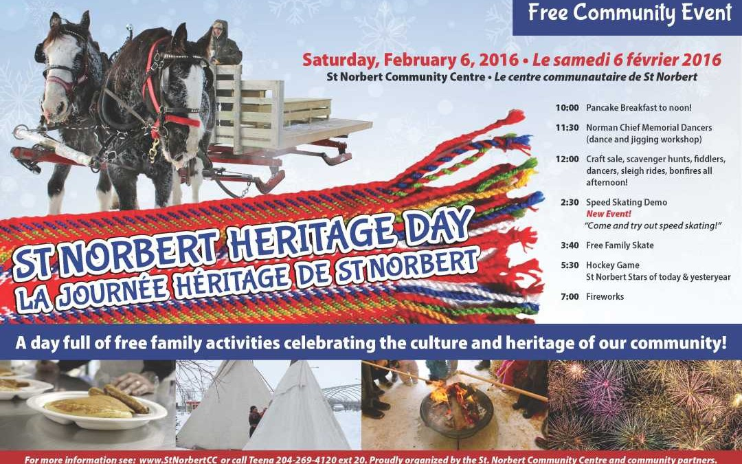 Family Fun at St. Norbert Heritage Day