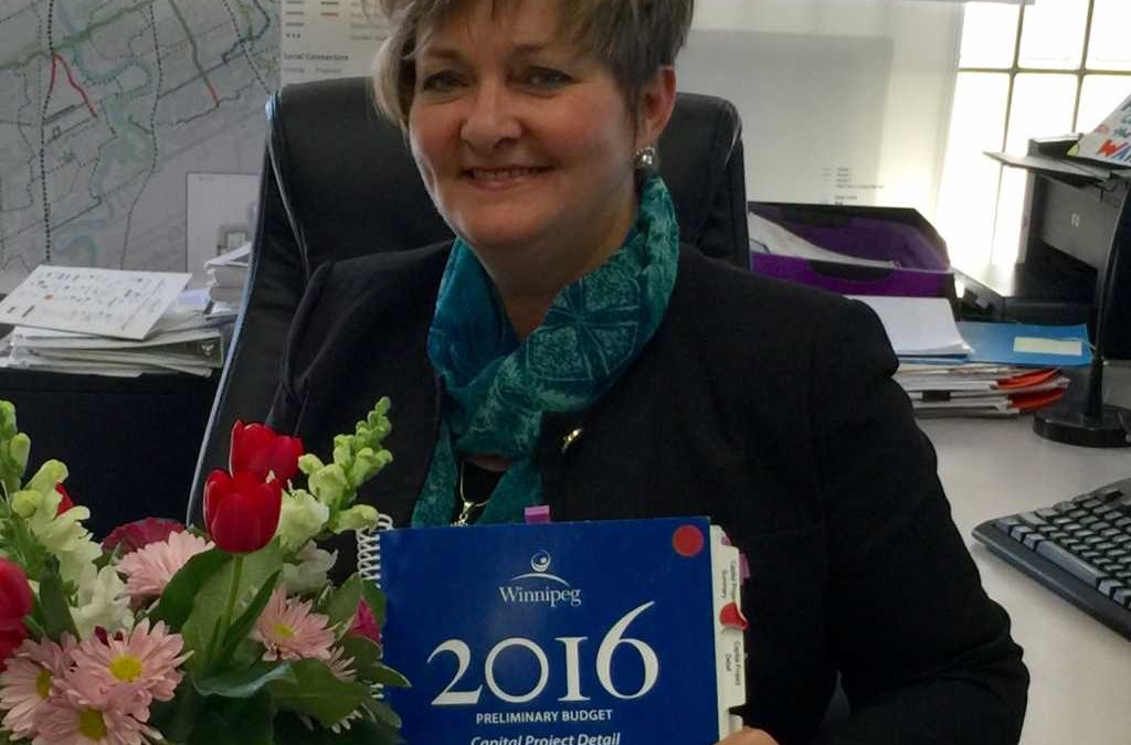 2016 Approved Budget Impact – South Winnipeg-St. Norbert Ward