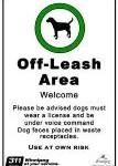 off leash dog sign3