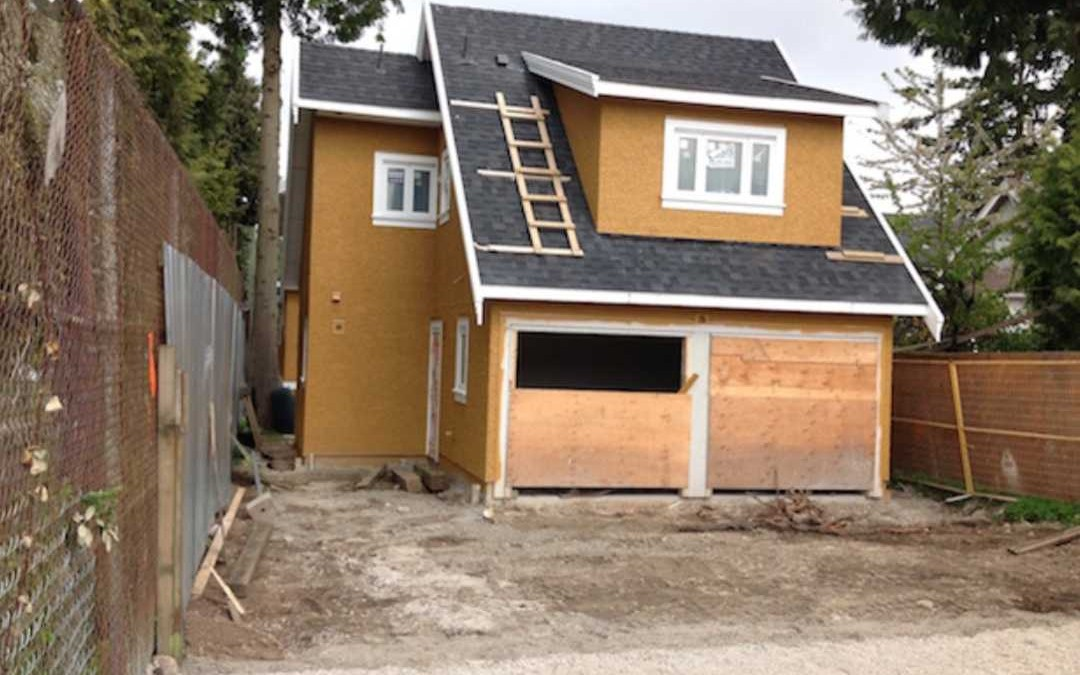 Addition of Secondary Suites to Single Family Residences