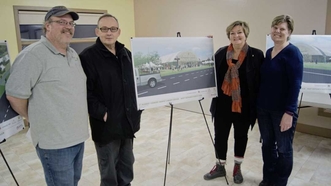 New Canopy Structure for St. Norbert Farmers Market