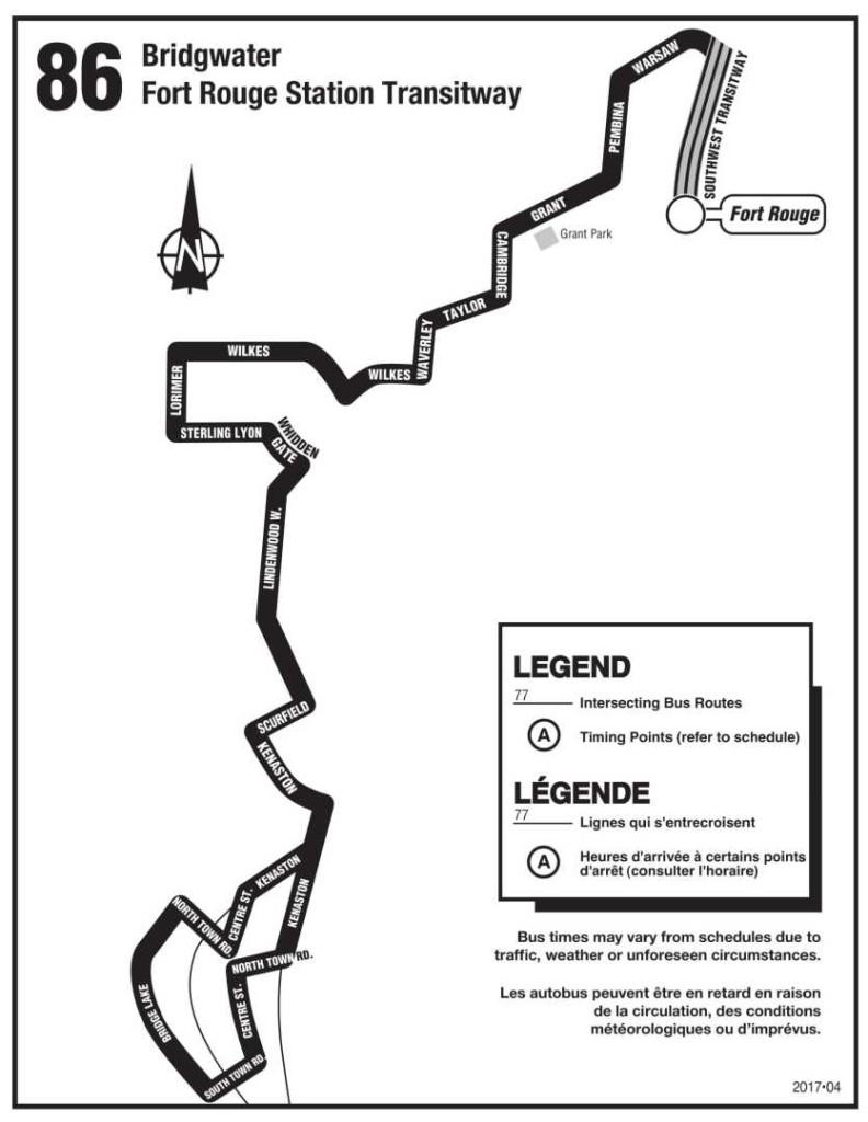 bridgwater 86 map